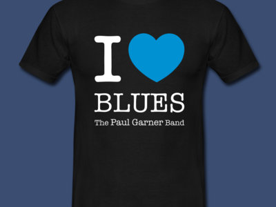 I ♡ Blues t-shirt (mens) main photo