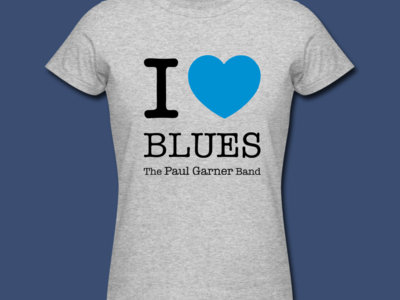 I ♡ Blues t-shirt (womens) main photo