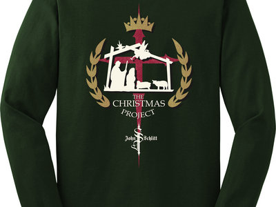 The Christmas Project Shirt: Forest Green (size S-XL) main photo