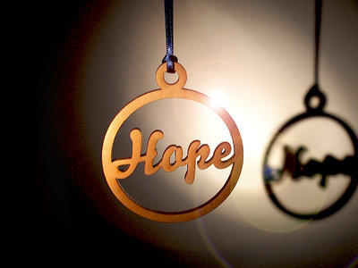 Hope and Social Christmas Tree Decorations main photo