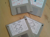 """Space Hymns 3.5"""" Floppy Disk EPs photo"""
