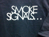 Smoke Cig T-Shirt (Navy) photo