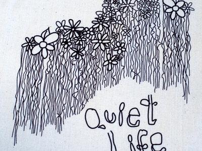 Quiet Life FLOWER TOTE main photo