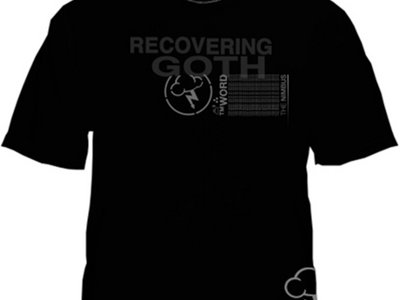 Limited Edition BLACKest13 x ™WORD 'Recovering Goth' Remission Variant Shirt main photo