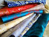 Chinese Silk Prayer Book Covers photo