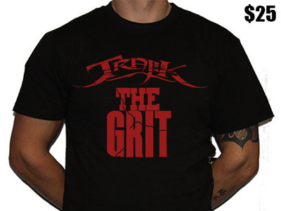 """The GRIT"" Tee Black/Red main photo"