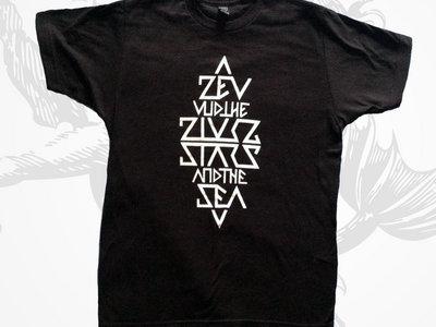 "Guys Triangle ""Alex Hagen"" Design T-Shirt and a Sticker main photo"