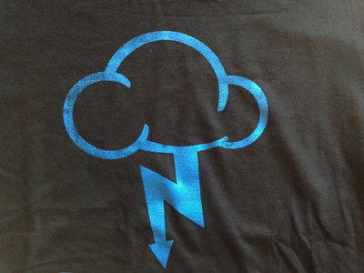 The Nimbus Logo Shirt (Black+Blue Version) main photo