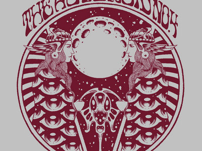 Asteroid No.4 Grey w/ Red Album Art Tshirt, Free Album  Download main photo