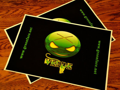 "Glossy 13"" x 19"" Verde Poster (w free album download) main photo"