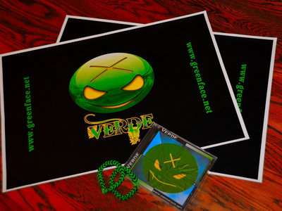 Verde Merch Bundle #1 (w free album download) main photo