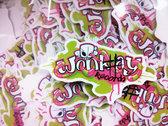 WONK#AY T-shirt + Sticker + Badge COMBO photo
