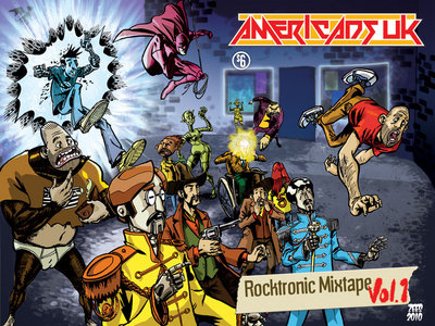 Americans UK Rocktronic Mixtape 1 + 2, comic book anthologies main photo