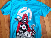 """Magnetic Eye of the Beholder"" T-shirt  Turquoise photo"