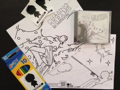 Chasing Dreams Coloring Book/CD Combo main photo
