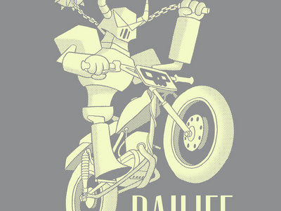Cyborg Knight T-Shirt main photo
