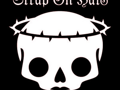 "Skull Logo Vinyl Sticker 4""x4"" main photo"