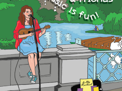 Amy K. & Friends Coloring Book main photo