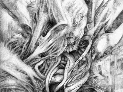 Everything Is Alive Pencil Drawing main photo