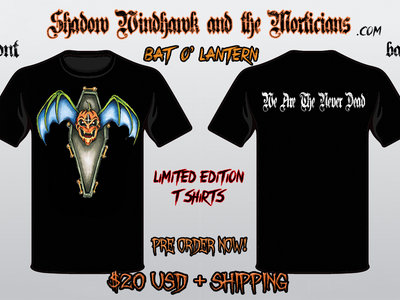 "Limited Edition ""Bat-O-Lantern"" T-Shirt main photo"
