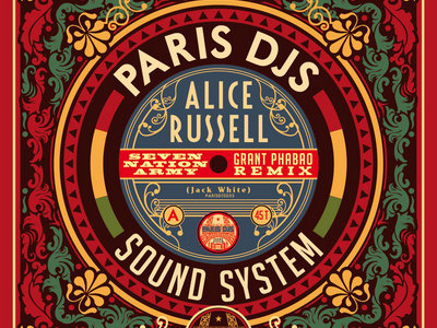"""Alice Russell - Seven Nation Army / Humankind (Grant Phabao Remixes) - 7"""" Vinyl Single (300 copies) main photo"""