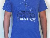 """""""I'd be like a ship"""" T-shirt photo"""