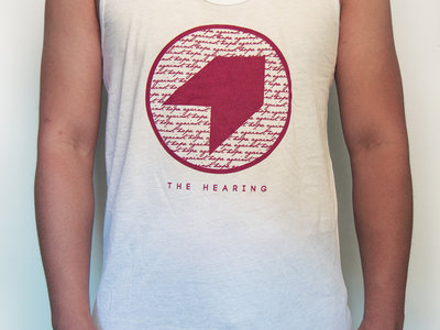 White Tank Top with The Hearing Logo main photo