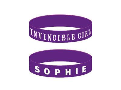 Invincible Girl S.O.P.H.I.E. Wristband- 50% OFF UNTIL 1/09/15 main photo