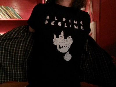 Alpine Decline SKULL T-shirt (+ free album download) main photo
