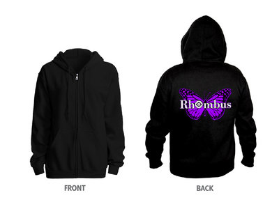 Rhombus 'Purple Butterfly' Limited Edition Hoodie main photo