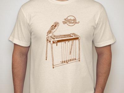 Owl & Pedal Steel T-Shirt (Cream) main photo