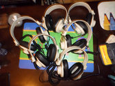 Vintage Califone Headphones + Coily Cable photo