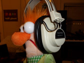 Vintage Califone Headphones + Coily Cable photo