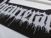 Incarceration Woven Backpatch photo