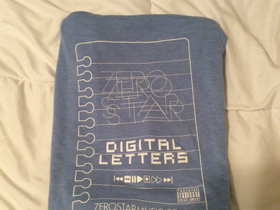 Light blue Digital Letters t shirt/ Digital Letters album main photo
