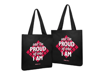Rhombus 'And I'm Proud Of Who I Am' Tote Bag main photo