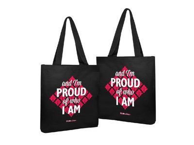 Rhombus 'And I'm Proud Of Who I Am' Tote Bag main photo