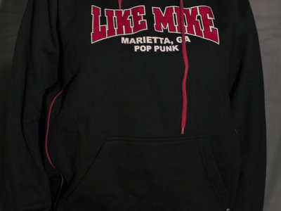Black and Red Hooded Sweatshirt Size Small main photo