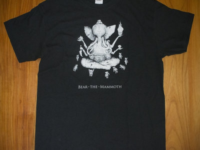 Bear the Mammoth T-Shirt (Black) main photo