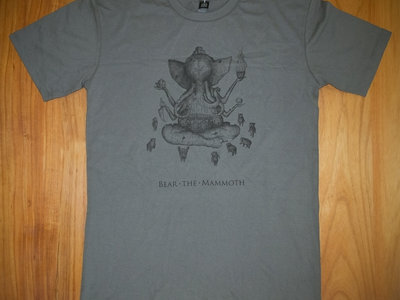Bear the Mammoth T-Shirt (Charcoal) main photo