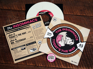 "7"" Vinyl single, edition of 500, first 250 on white vinyl main photo"