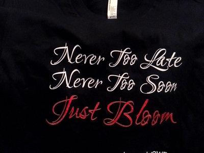 "Limited Edition ""Neva Late, Neva Too Soon...."" Boog Brown T-Shirt [BLACK] main photo"