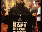 Underground Raps Before The Internet - Gel Roc tee photo