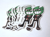 Gremlin Mascot Sticker! photo