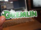 Gremlin Logo Sticker! photo