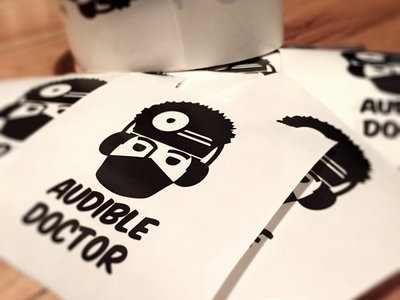 Audible Doctor Logo Sticker main photo