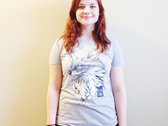 Fox T-shirt - Grey photo