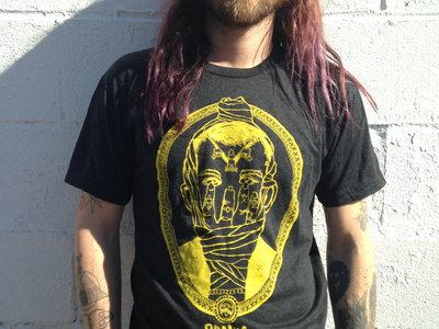 RONiiA mask t-shirt, in yellow main photo