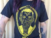 RONiiA mask t-shirt, in yellow photo