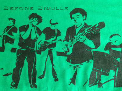 "Before Braille ""Live Band"" shirt (Green) main photo"